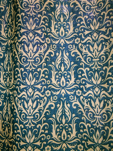 Detail laundry room curtain fabric