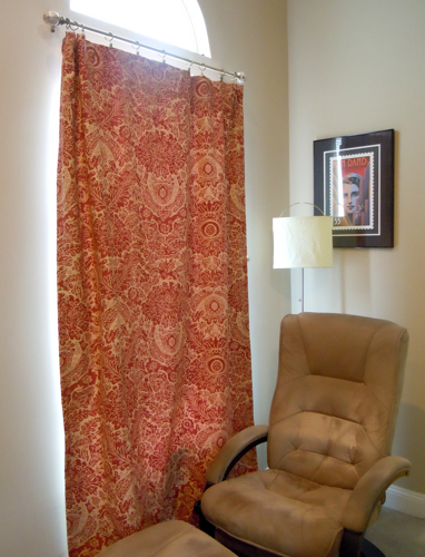 family room curtain
