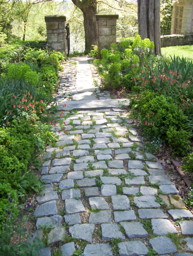 Garden path at Belmont