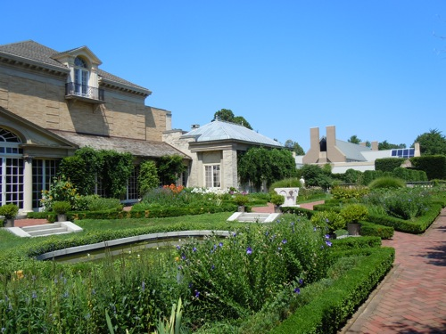 Garden at the Eastman House