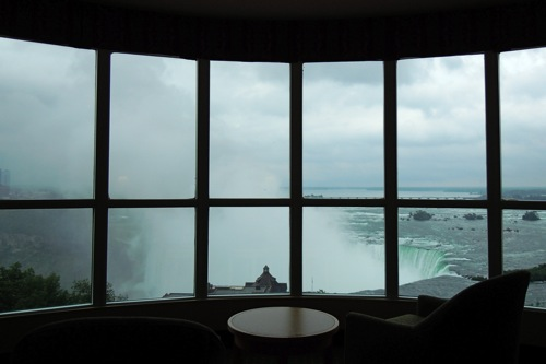 View from the Presidential Suite, Embassy Suites, Niagara, Ontario