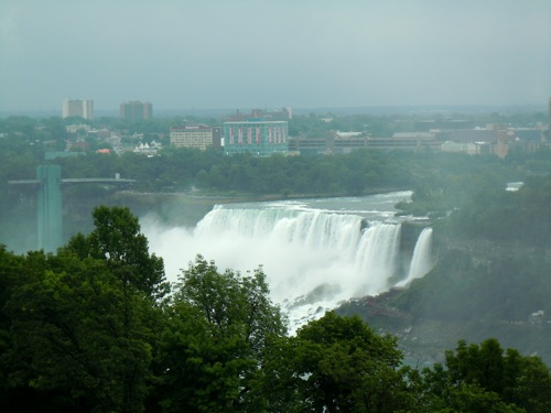 View of American Falls from room