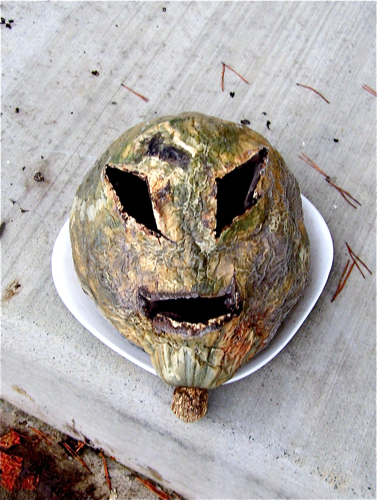 Alien Pumpkin Head