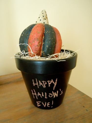 Chalkboard Pot