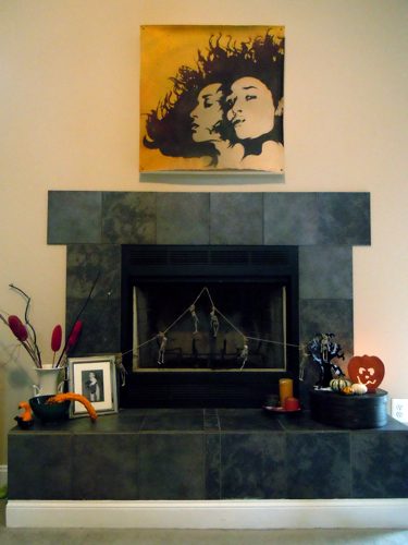 Fall Fireplace 2011