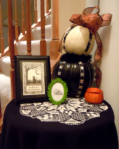 Hall Table Vignette