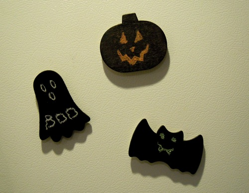 Halloween Chalkboard Magnets