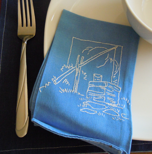Napkin Detail