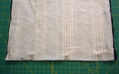 Pin fabric together