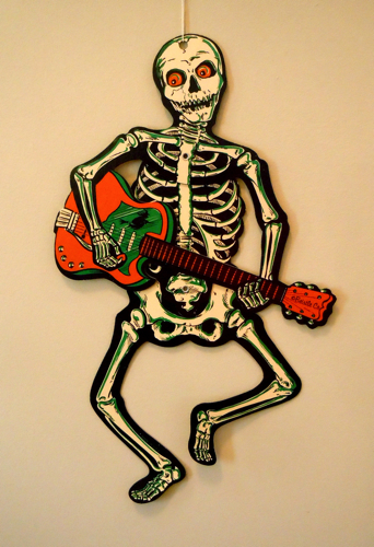 Rockin' Out Skeleton