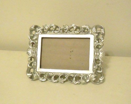 Little silver frame