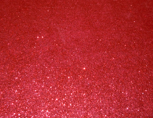Red glitter paper