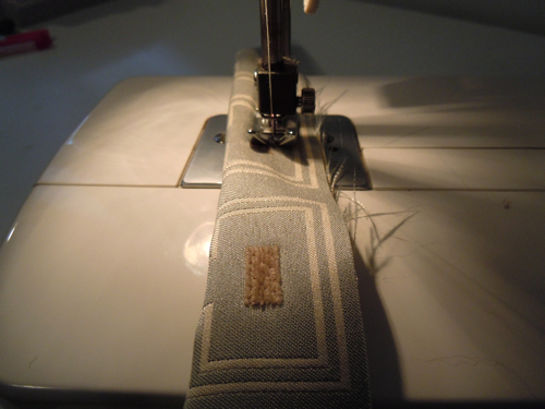 Sew onto cording