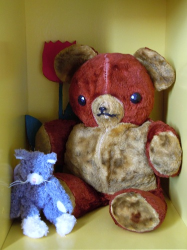antique teddybear