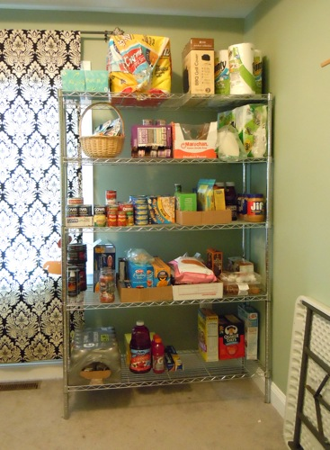 Food Shelf After