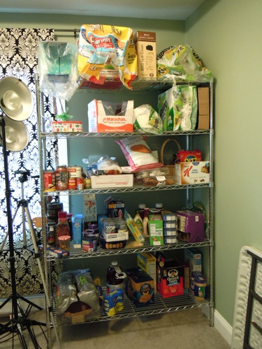 Food Shelf Before