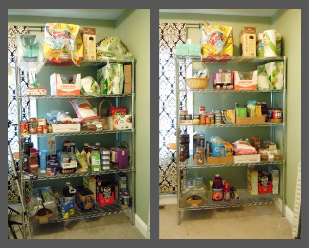 Shelf Before and After