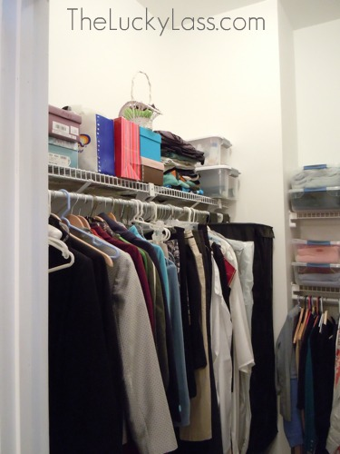Her Closet, left side