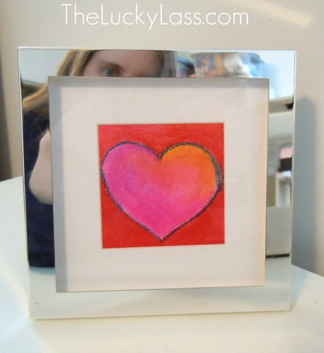 Silver Framed Heart