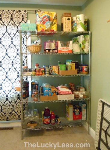 Food Shelf in the Studio