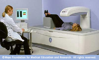 dexa machine