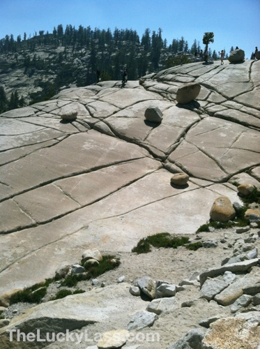 Etched Rock Paths