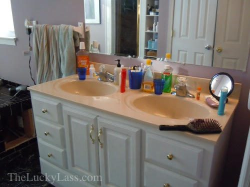 Cramped Double Sink