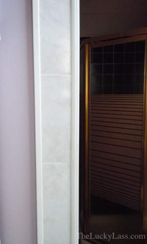 Tile Trim Around Doorway