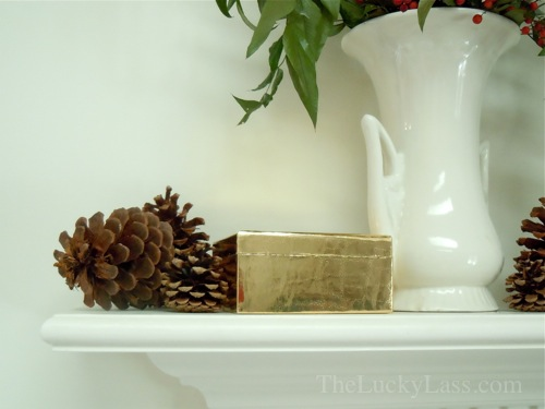 Gold Box on Mantle