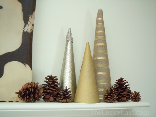 Modern Christmas Tree Trio