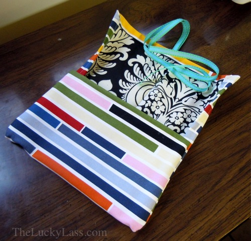 Pencil Case with Ribbon Tie
