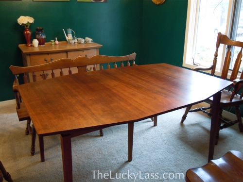 Walter of Wabash Midcentury Modern Table