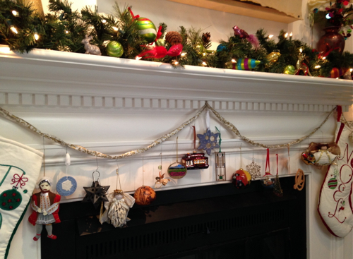 Ornaments on Mantle